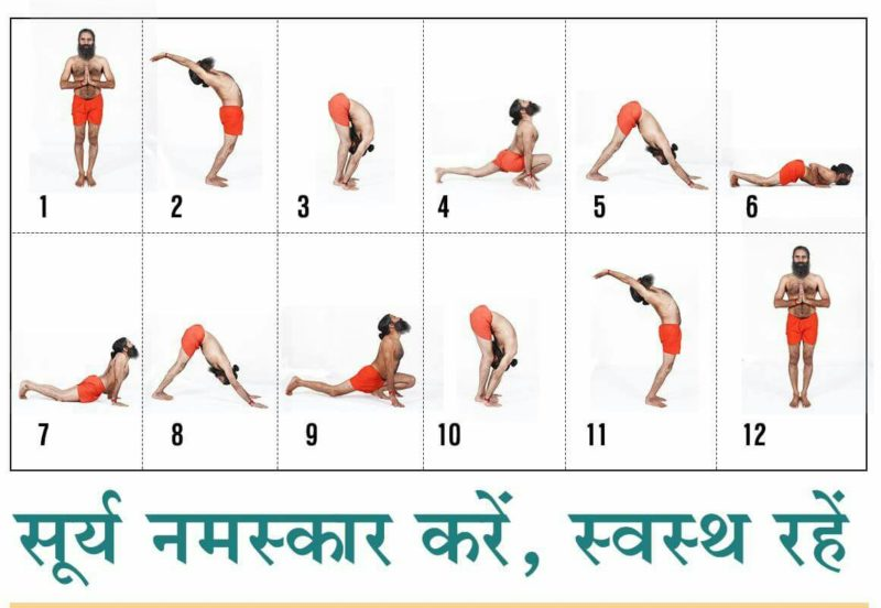 surya namsakar for height increase tips in hindi