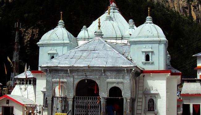 gangotri temple history in hindi