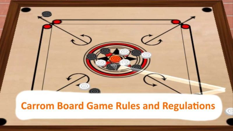 Carrom Board Game Rules and Regulations In Hindi