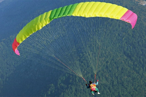 How To Do Parachuting In Hindi