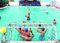 WATER POLO GAME In Hindi