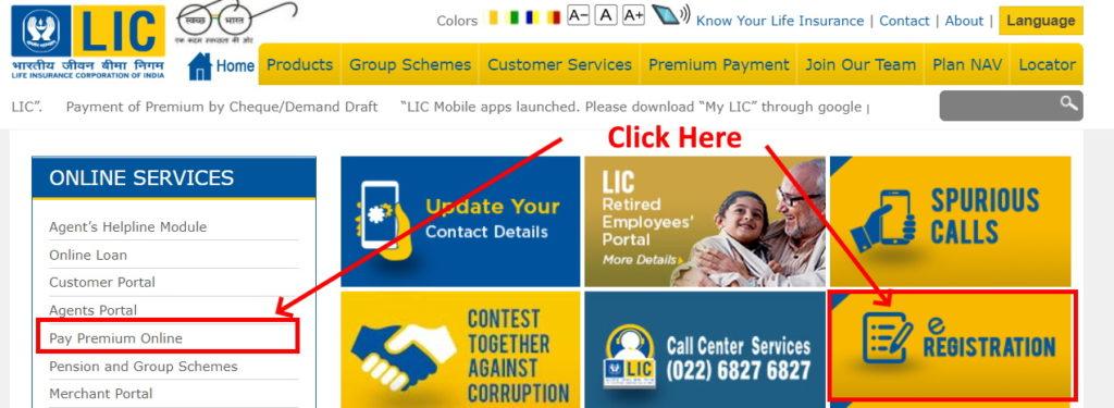LIC Premium payment online hindi