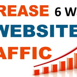 top 6 ways to increase traffic of blog in hindi